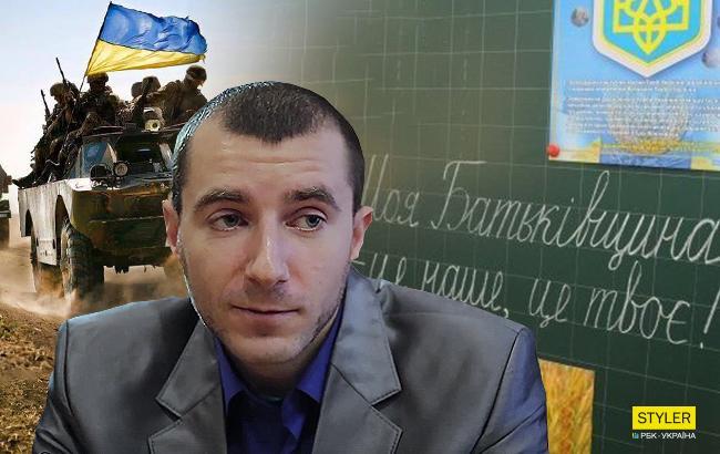 Воїн АТО після демобілізації залишився на Донбасі працювати у школі (відео)