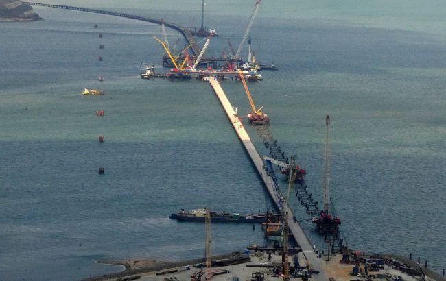 Оккупанты выбрали название для моста через Керченский пролив