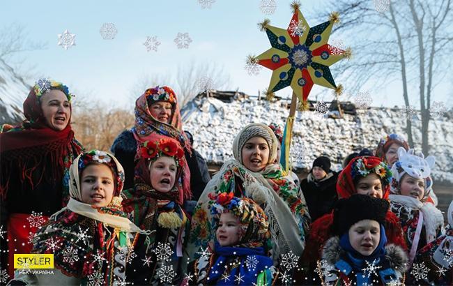 Фото: Колядки (РБК-Украина)