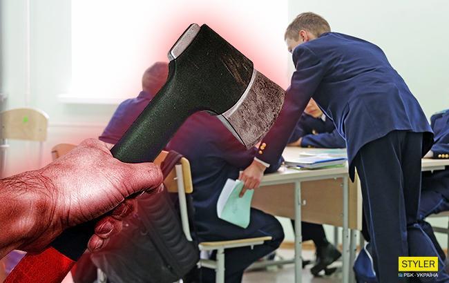 """""""Рубил топором детей"""": пострадавшая учительница рассказала о кровавой резне в школе Бурятии"""