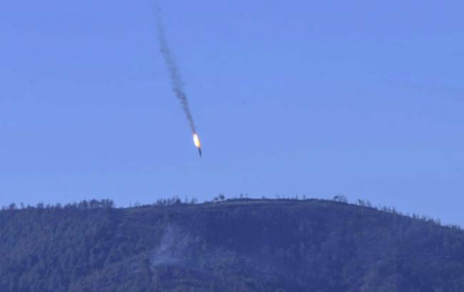 Правозахисники заявили про запуск ракет з кораблів по району падіння Су-24