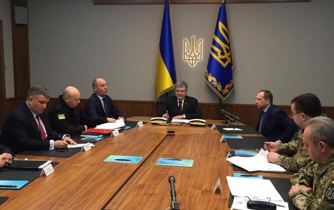 Порошенко підписав підписав закон про реінтеграцію Донбасу