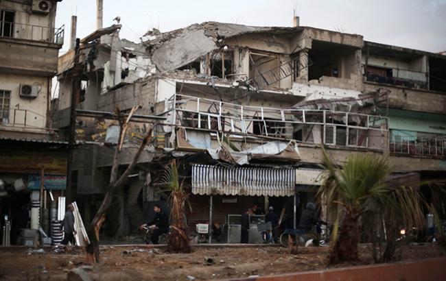 В Восточной Гуте произошла химическая атака, - BBC