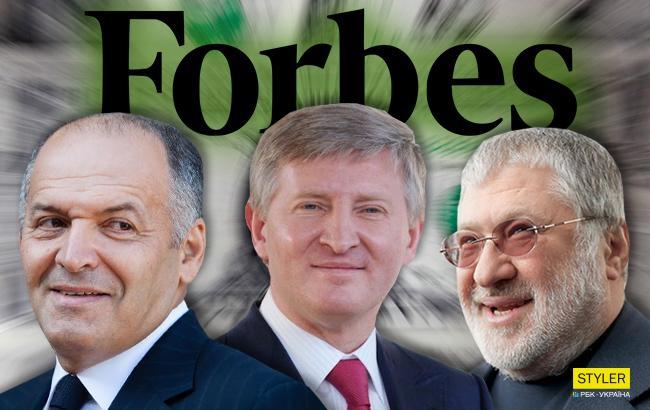 Стало известно, кто из украинских олигархов попал в рейтинг журнала Forbes
