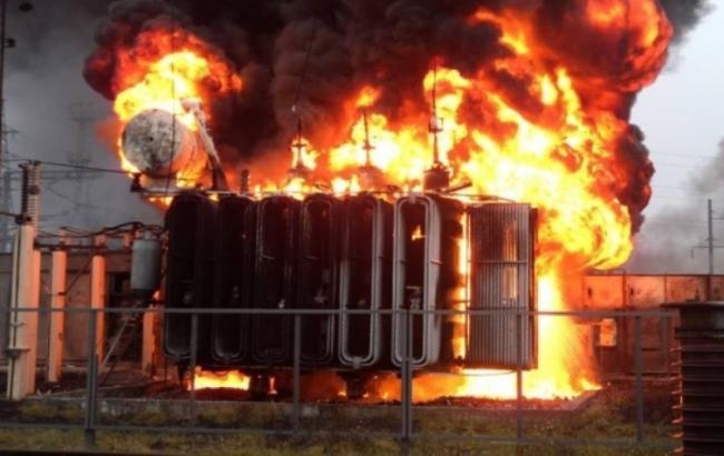 На електропідстанції в Сімферополі прогримів вибух