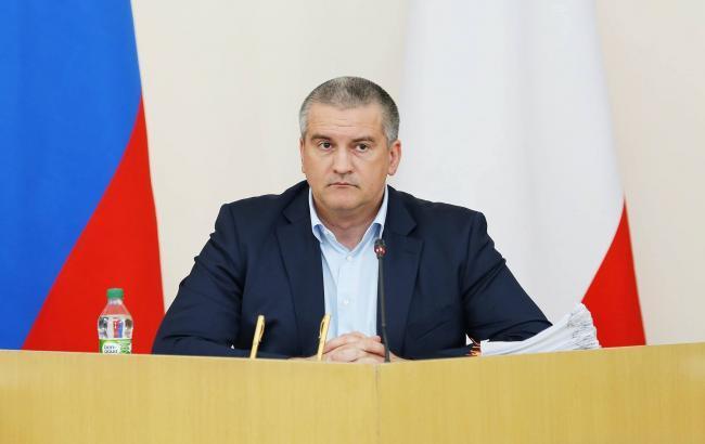 """Аксенов потребовал """"зачистить"""" украинские СМИ в Крыму"""