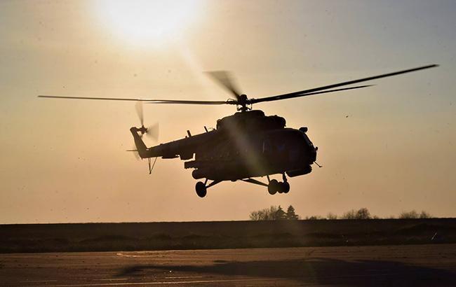 Фото: вертолет (facebook.com/theministryofdefence.ua)
