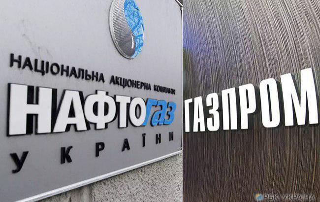 """Фото: """"Нафтогаз"""" и """"газпром"""" могут встретиться в Женеве (коллаж РБК-Украина)"""