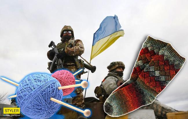 Добра справа: сім'я з Лисичанська в'яже шкарпетки для бійців АТО