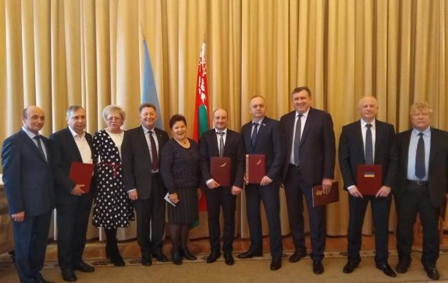 Подписано соглашение о сотрудничестве между организациями городов Украины и Беларуси