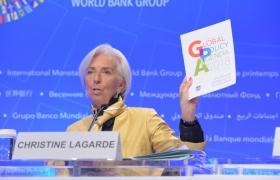 Директор-розпорядник МВФ очікує від країн-учасниць Фонду структурних реформ у фінансовому секторі (Фото: прес-служба МВФ)