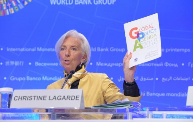 Про що попереджає і від чого застерігає світ глава МВФ Крістін Лагард