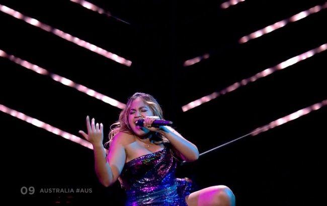 Фото: Джессика Маубой-Jessica Mauboy (скриншот из видео)