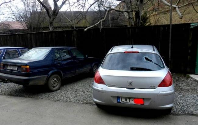 Фото: побитые авто в Берегово (Mukachevo.net)