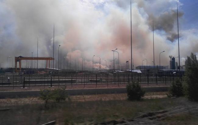 Пожар в Чернобыльской зоне: наблюдаются отдельные очаги возгорания