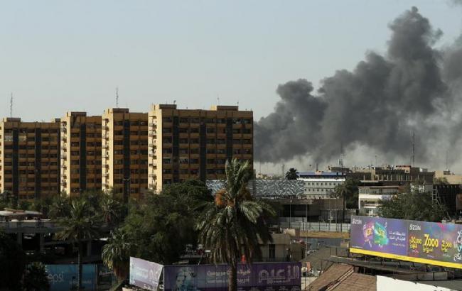 Фото: место пожара (Reuters)
