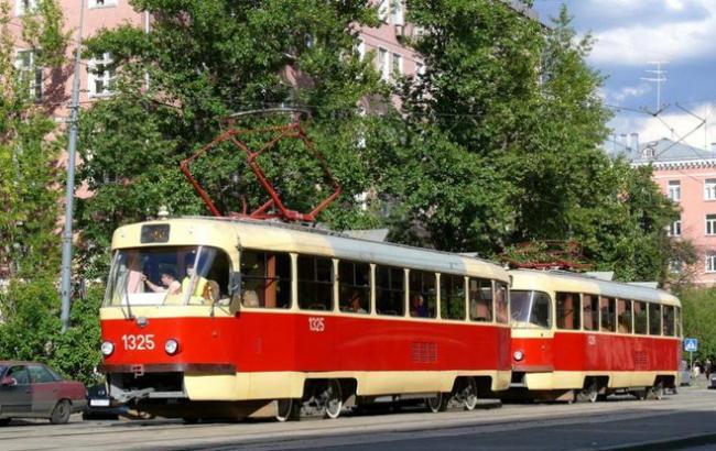 В Киеве по улице Гната Хоткевича проведут замену трамвайного узла