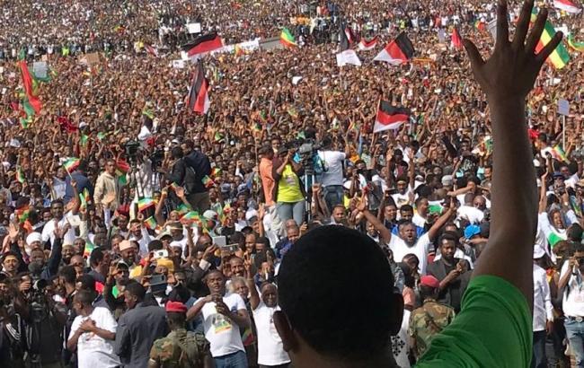 Взрыв на митинге в Эфиопии: пострадали более 80 человек