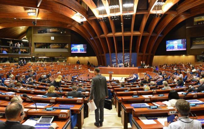 Украинская делегация вПАСЕ отказалась идти наприем кЯгланду