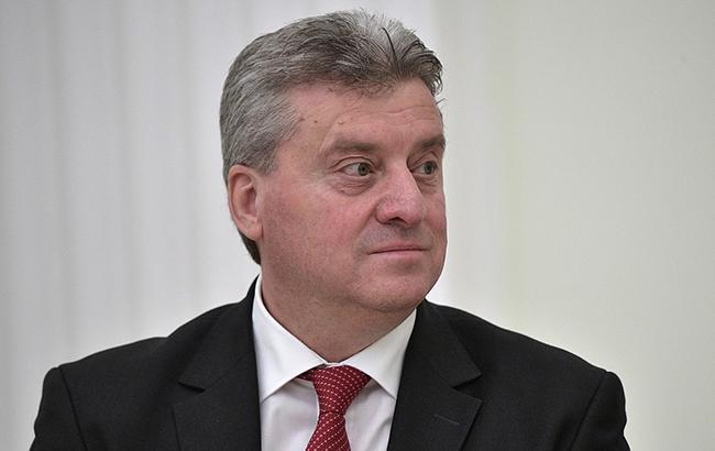 Президент Македонії наклав вето на перейменування країни