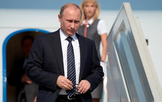 Путін прибув до Криму на відкриття енергомосту