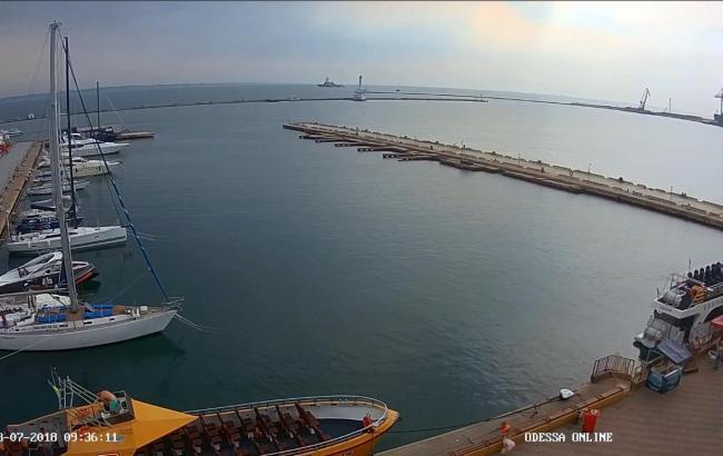 В Одесский порт прибыл ракетный эсминец США