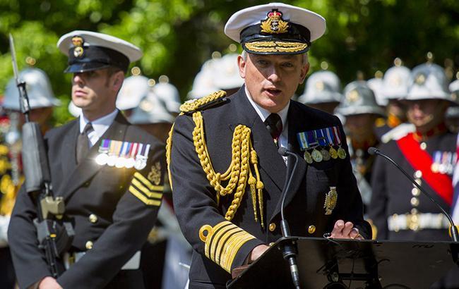 Фото: глава Королевского ВМФ Великобритании адмирал Филипп Джонс (flickr.com rn_topten)