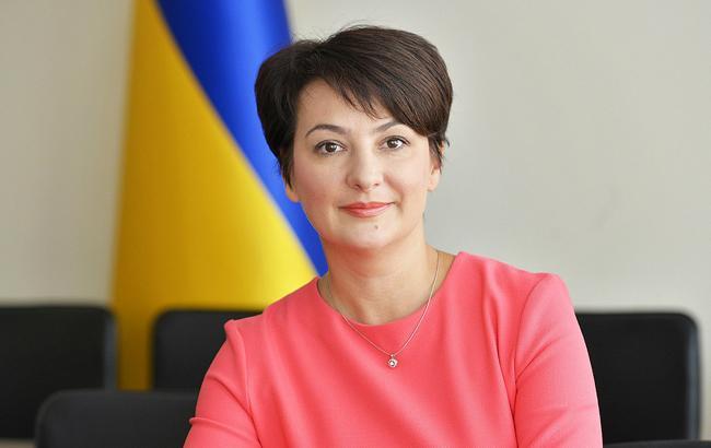 Фото: заместитель министра юстиции Украины Елена Сукманова (wikipedia.org)