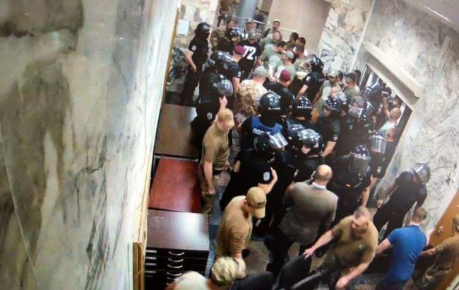 Инцидент под зданием НАБУ: полиция открыла уголовное дело