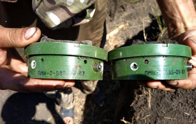 Біля Водяного було виявлено 25 російських мін