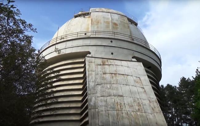 В Крыму уничтожают крупнейшую украинскую обсерваторию