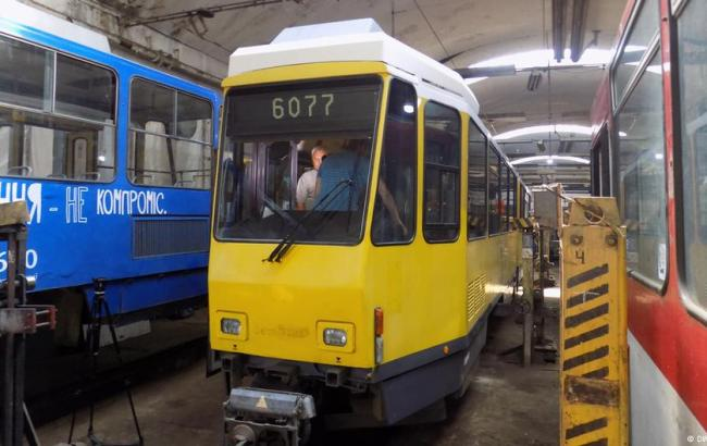 Фото:  б/у трамвай из Германии (dw.com)