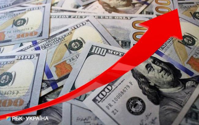 Курс долара на міжбанку 10 серпня підвищився до 27,33 гривень/долар