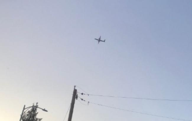 Викрадений в Сіетлі літак переслідували винищувачі
