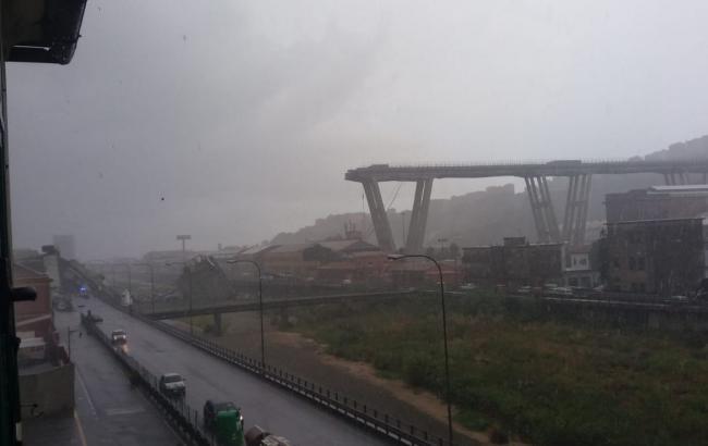 Кількість жертв обвалу мосту в Італії зросла до 22 осіб