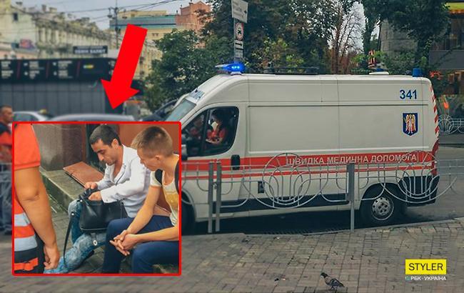 Находился под воздействием наркотиков: на Бессарабской площади умер мужчина