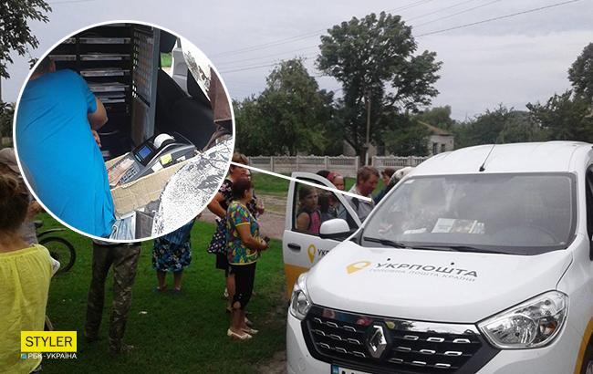 """""""Начался бардак"""": украинцы жалуются на передвижные почтовые отделения"""