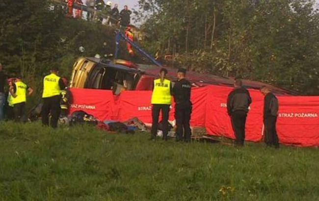 У Польщі в ДТП потрапив український автобус з туристами, троє загиблих