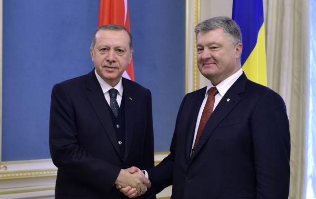 Порошенко у листопаді відвідає Туреччину на запрошення Ердогана