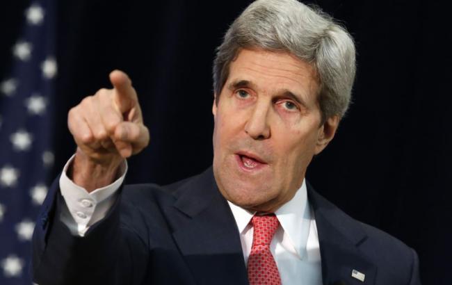 Держсекретар США планує обговорити виконання мінських домовленостей з Лавровим і Путіним