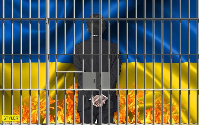 В Львовской области вандала, который сжег флаг Украины, посадили на полгода