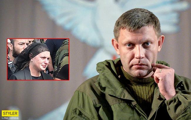 """""""Обе - Наташи"""": на передовую к боевикам привезли одну из жен Захарченко"""