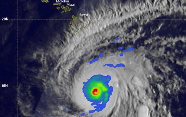Фото: тайфун (nasa.gov)