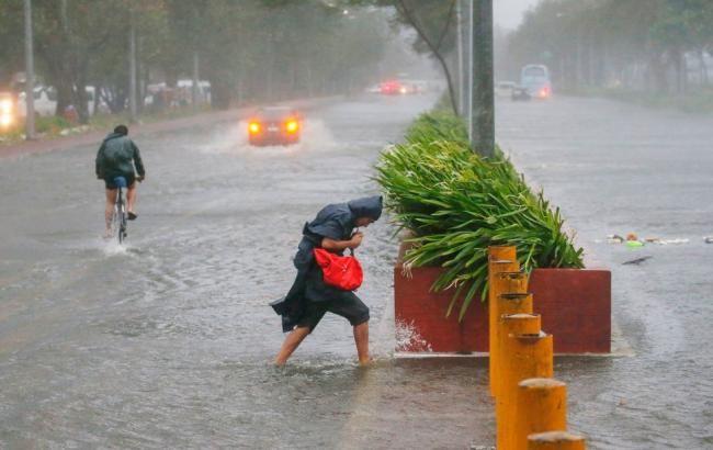 Фото: тайфун (twimg.com)