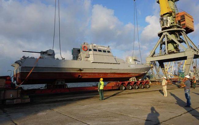 Фото: катер ВМС (Урядовий портал)