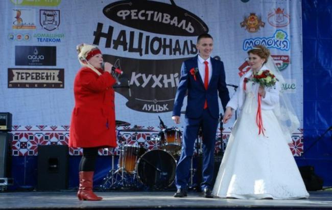 В Луцке отгуляли Фестиваль национальной кухни