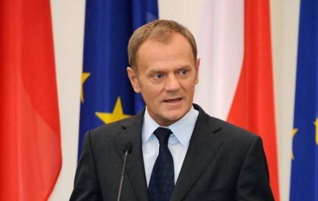 """Туск: """"Північний потік-2"""" не відповідає нормам ЄС"""