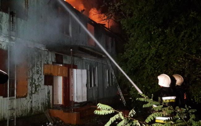 Пожар в Одессе: сотрудники санатория заявили о поджоге