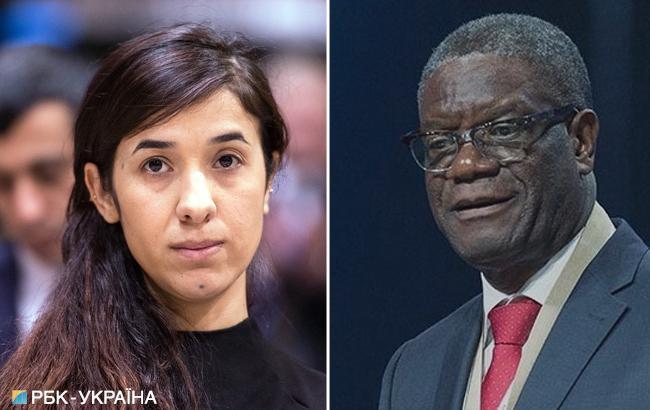 Нобелівську премію миру присудили хірургу і правозахисниці