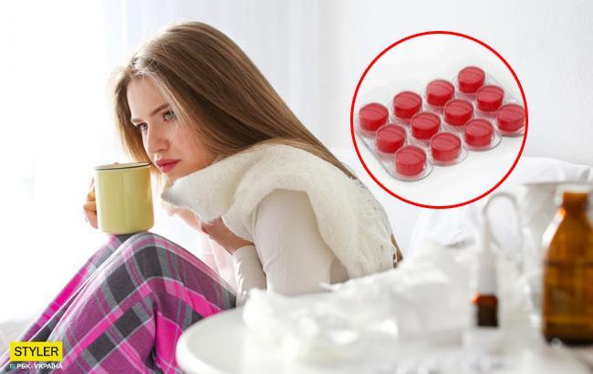 В Украине отменили запрет на популярный лекарственный препарат от боли в горле